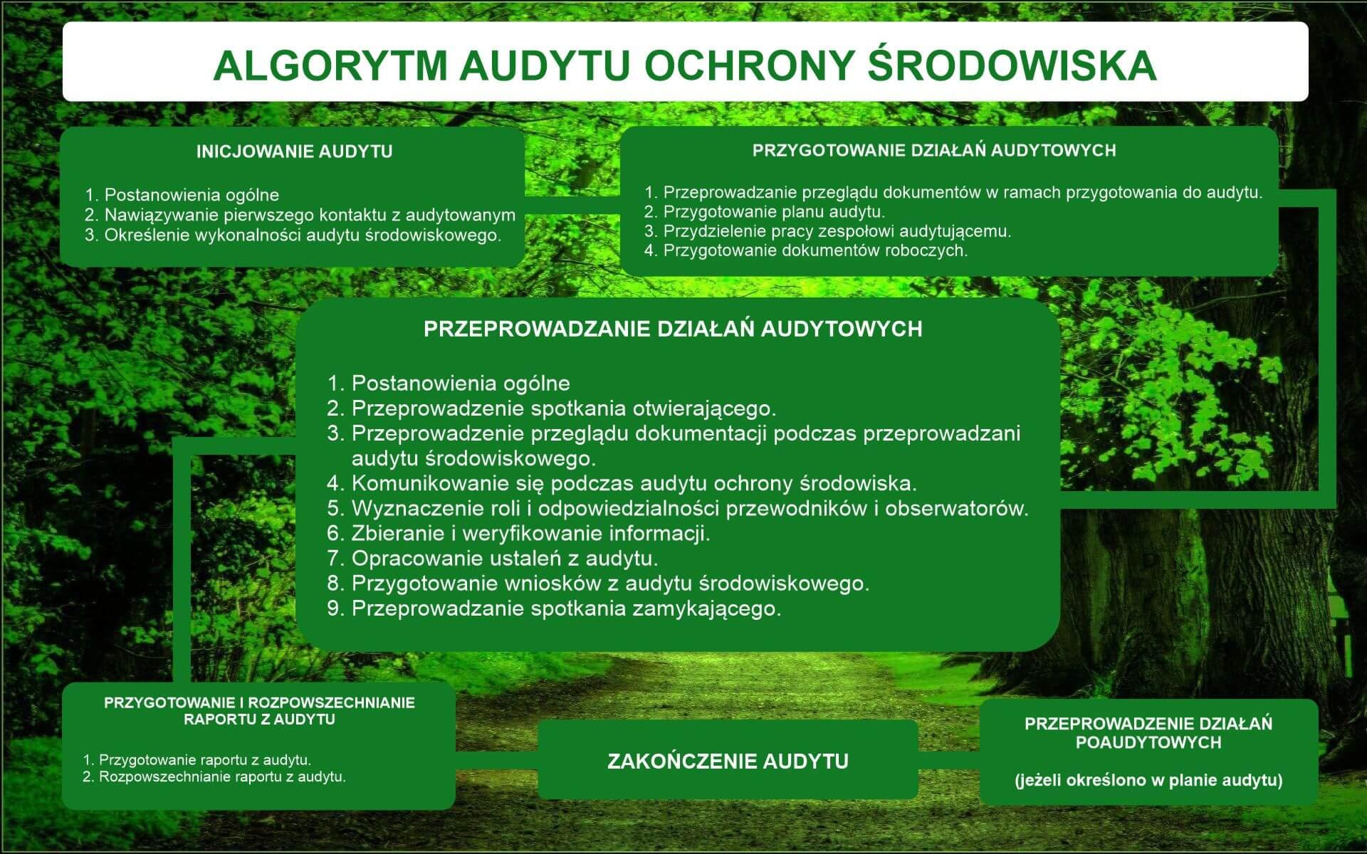 Algorytm audytu ochrony środowiska