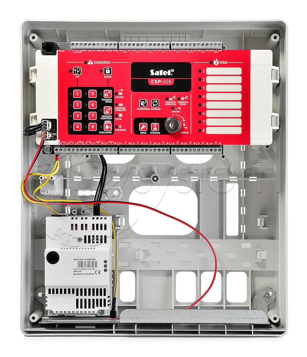 Przegląd urządzeń transmisji alarmów pożarowych isygnałów uszkodzeniowych