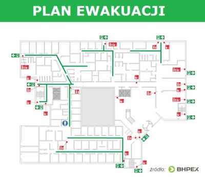 Plany ewakuacji