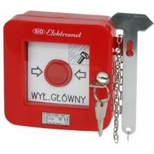 Przegląd ipomiary przeciwpożarowych wyłączników prądu