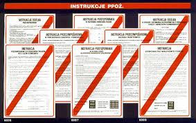 Instrukcje przeciwpożarowe