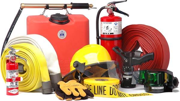sprzętu iurządzeń przeciwpożarowych