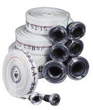 Wąż tłoczny dobadania wydajności hydrantów