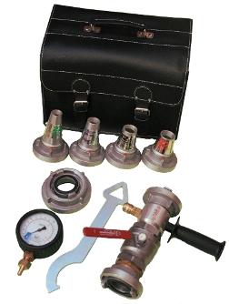 Zestaw dysz dobadania wydajności hydrantów wewnętrznych
