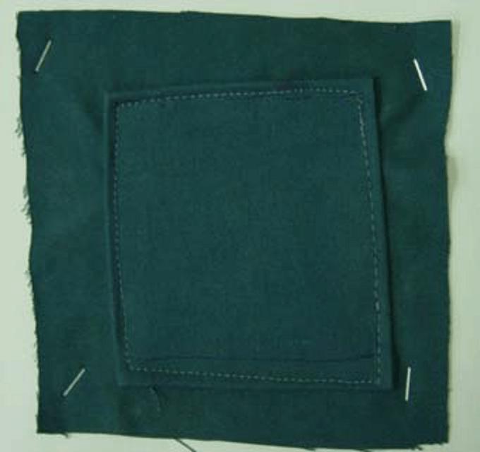 Przykład bezbłędnie naprawionej odzieży