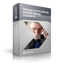 Zdjęcie produktu: - Polityka bezpieczeństwa ochrony danych osobowych