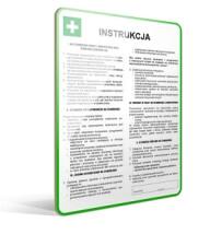 Zdjęcie produktu: - Instrukcje pierwszej pomocy