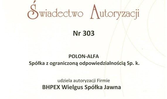 Autoryzacja POLON