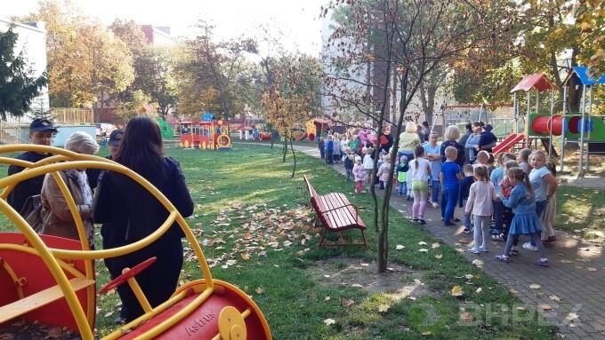 ewakuacja przedszkole nr 3