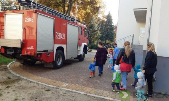 Ćwiczenia ewakuacyjne wtrzech przedszkolach wKrośnie Odrzańskim [galeria]
