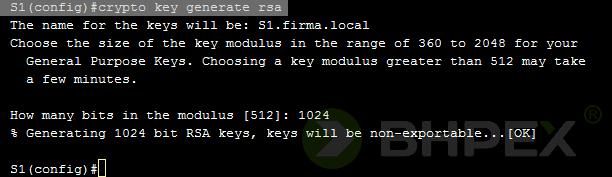generowanie kluczy