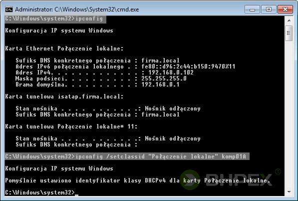 identyfikator klasy użytkownika