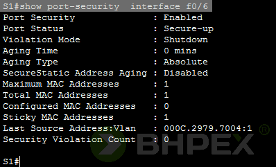 interfejs ma status Secure-up