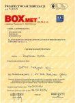 BOXMET autoryzacja klap dymowych