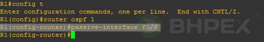 passive-interface