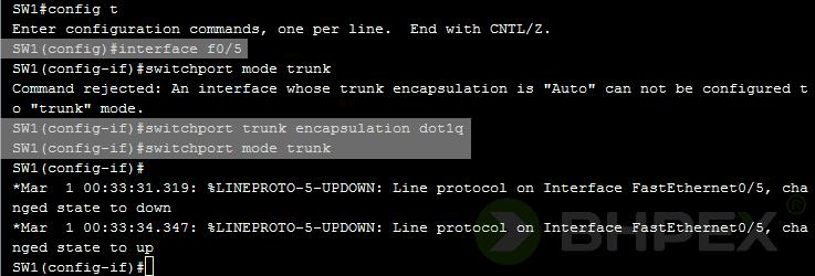 poprawienie konfiguracji