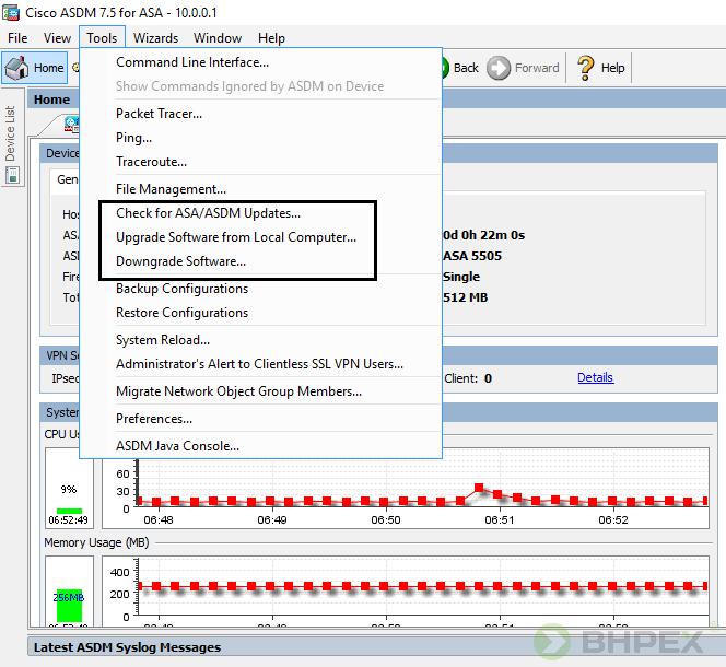 proces aktualizacji firmware