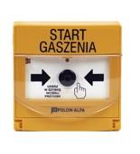 Przyciski sterowania i uruchamiania w systemach pożarowych