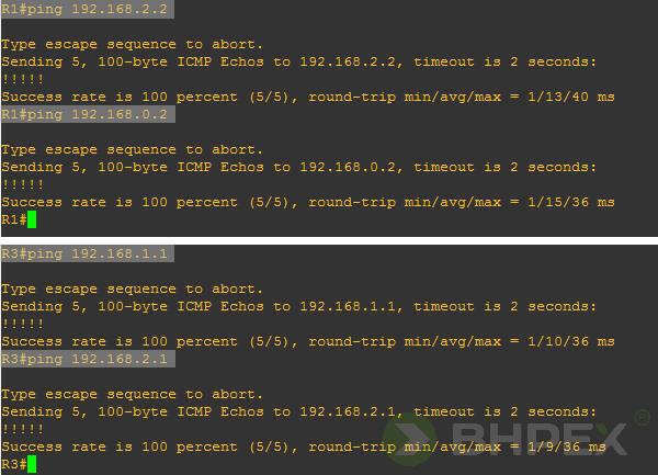 test ping - wysłanie pakietów ICPM