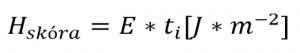 pomiar natężenia promieniowania E