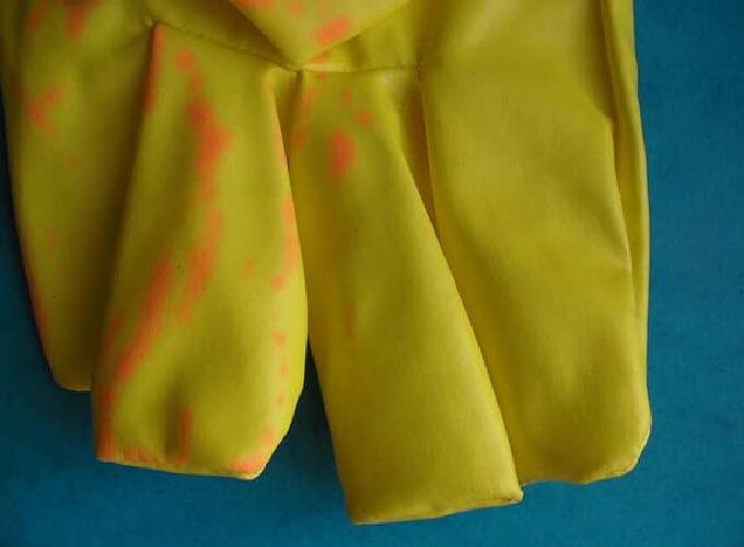 Zmiany materiałowe wpostaci przebarwień